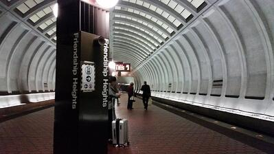 Friendship Heights metro