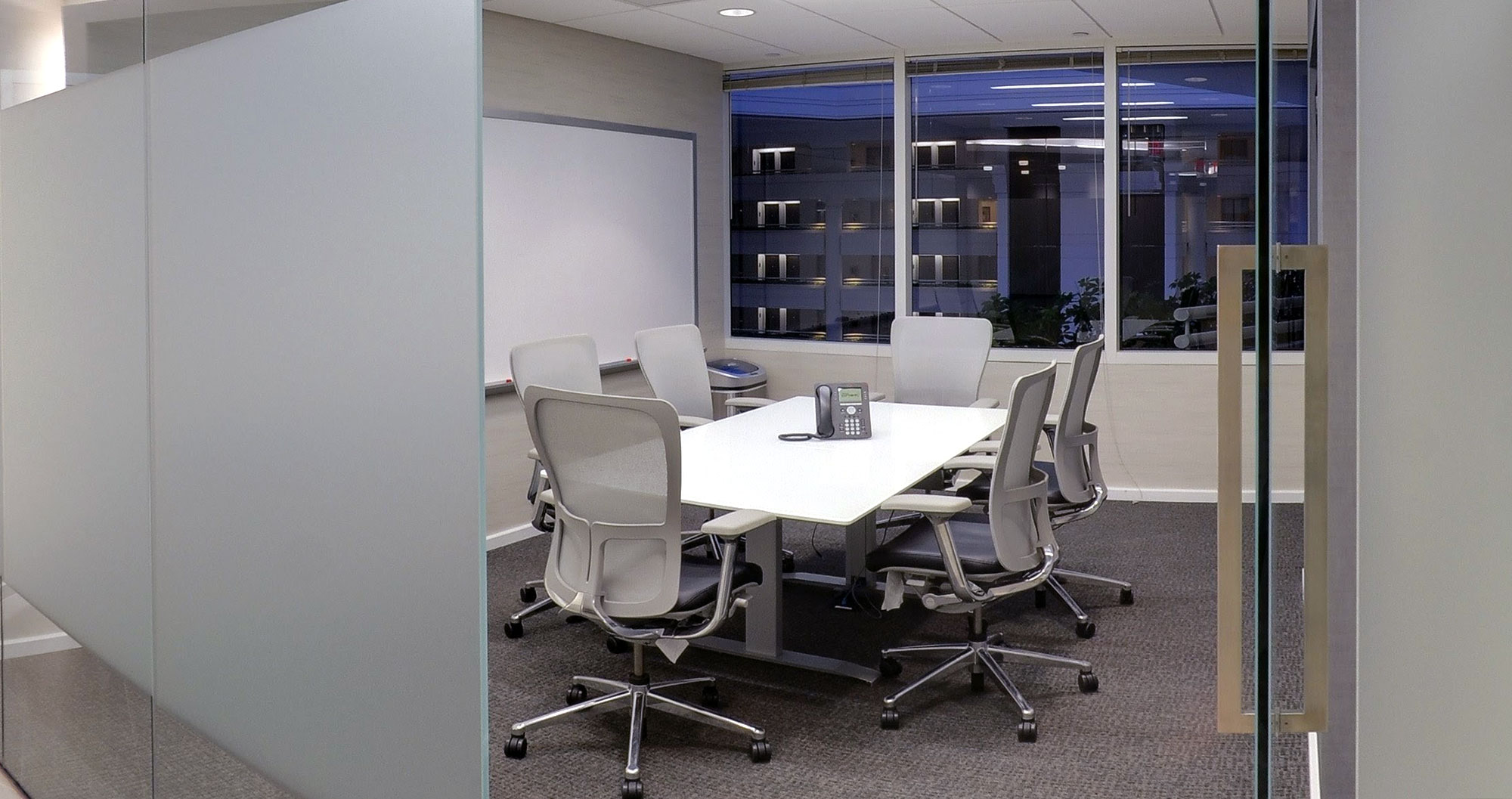 chevy chase meeting room with window