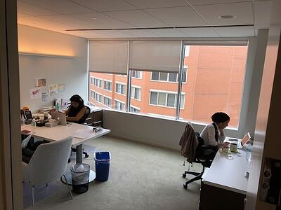 Suite AB large office