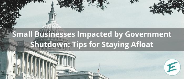 gov shutdown small biz impact