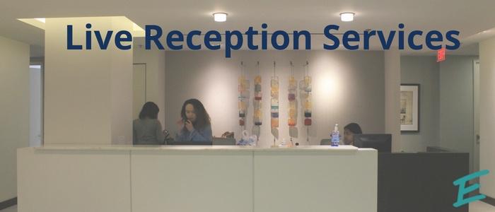 live reception service