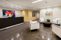 downtown dc reception area