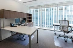 downtown dc private windowed office
